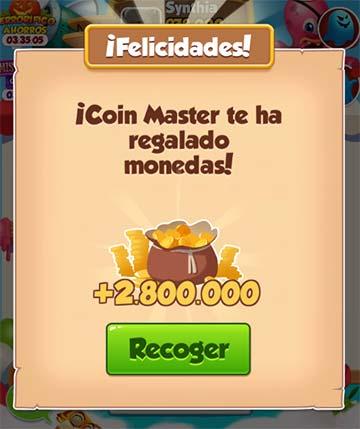 Enlace Coin Master 2 Millones de Tiradas