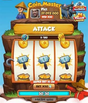 El martillo - Ataques