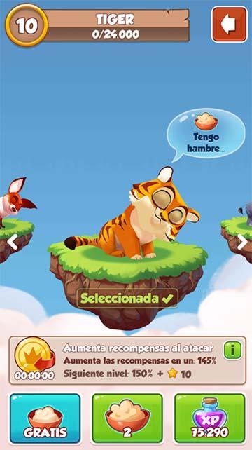 la mascota Tigre