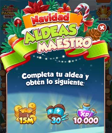 Evento Aldeas Maestro (Village Master)