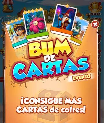 Evento Bum de Cartas (Card Boom Event)