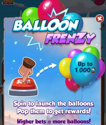 evento Balloon Frenzy